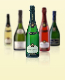 dzirkstošais vīns, šampanietis